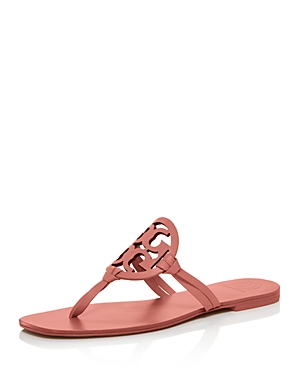 Tory Burch Women's Miller Square-Toe Thong Sandals