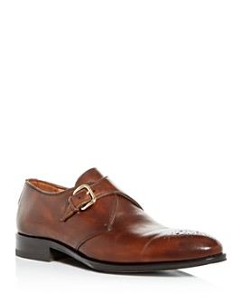PASTORI - Men's Tiberius Single Monkstrap Oxfords