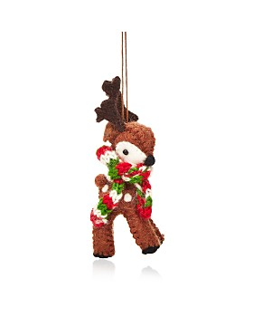 TO THE MARKET - Felt Rudolph Ornament