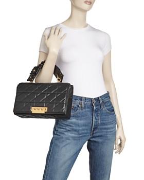 ZAC Zac Posen - Earthette Jumbo Studded Convertible Shoulder Bag
