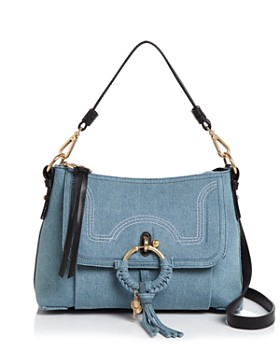 See by Chloé - Joan Small Denim Shoulder Bag - 100% Exclusive