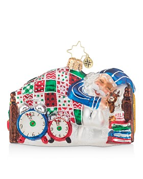 Christopher Radko - Sleepy Mr. Claus Ornament