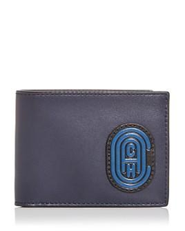 COACH - Slim Leather Bi-Fold Wallet
