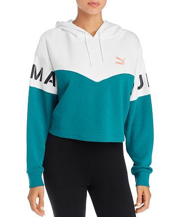 PUMA - XTG Color-Block Hooded Sweatshirt