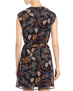 Daniel Rainn - Floral-Print Cap-Sleeve Dress