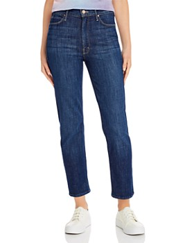 MOTHER - The Dazzler High-Rise Straight-Leg Jeans in Clean Sweep