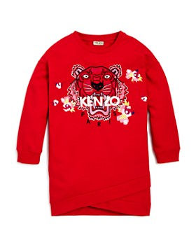 Kenzo - Girls' Tiger Sweatshirt Dress - Big Kid