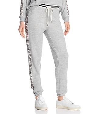 Splendid Leopard-Stripe Jogger Pants - 100% Exclusive