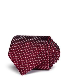 Eton - Geometric Square Pattern Classic Tie