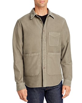 Aspesi - Moleskin Regular Fit Shirt Jacket