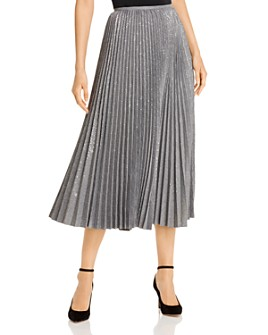 Lafayette 148 New York - Jahira Pleated Midi Skirt