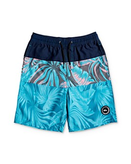 Quiksilver - Boys' Color-Block Volley Shorts - Big Kid