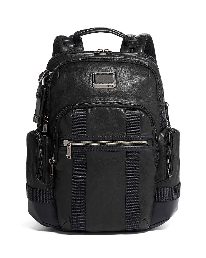 Tumi Alpha Nathan Expandable Backpack In Black