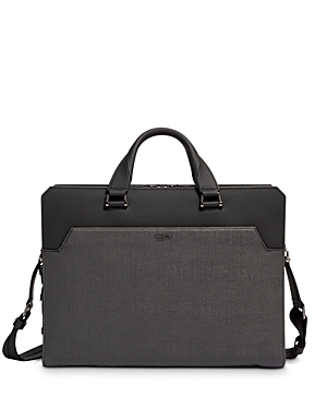 Tumi Ashton Barnet Double-Zip Briefcase-Men