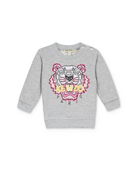 Kenzo - Girls' Embroidered Tiger & Logo Sweatshirt - Baby