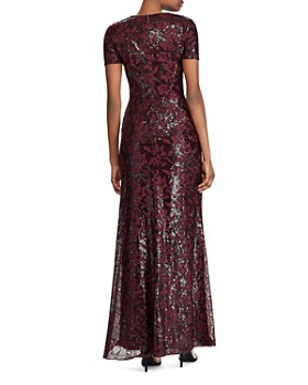 Ralph Lauren - Sequined Evening Gown