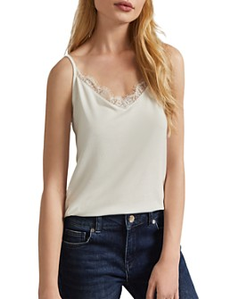 Ted Baker - Paygee Jersey Lace-Trimmed Cami