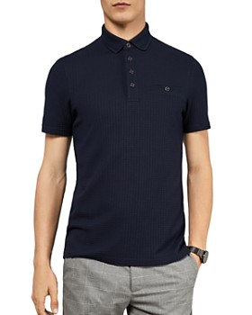 Ted Baker - Hughes Textured Regular Fit Polo Shirt