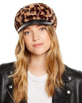 August Hat Company - Faux Fur Newsboy Hat