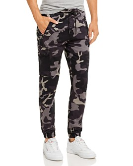 Joe's Jeans - Drop Yoke Camo Cargo Joggers - 100% Exclusive
