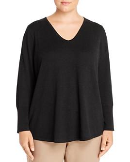 NIC and ZOE Plus - Vital V-Neck Sweater