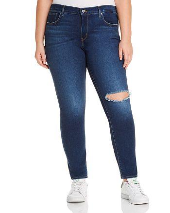 Levi's Plus - 311 Shaping Skinny Jeans in London Haze