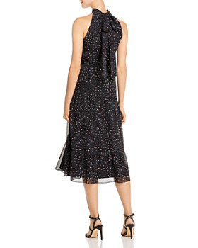 Sam Edelman - Astro-Print Mock-Neck Midi Dress
