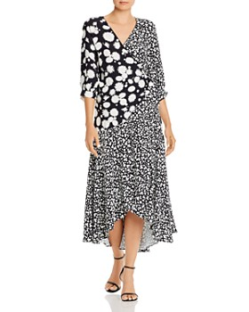 Paper London - Fresia Heavy Petal Wrap Maxi Dress