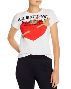 Helmut Lang - Embroidered Standard Baby Tee