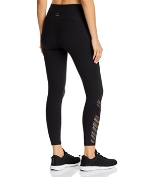 Beyond Yoga - Top Notch Laser-Cut Leggings - 100% Exclusive