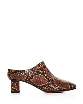 LoQ - Women's Eva Block Heel Mules