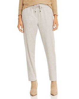 Marella - Cleo Tonal Side-Stripe Pants