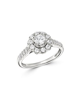 Bloomingdale's - Diamond Engagement Ring in 14K White Gold, 0.75 ct. t.w. - 100% Exclusive