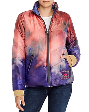 Mother Jackets THE TWO FACED REVERSIBLE PUFFER JACKET