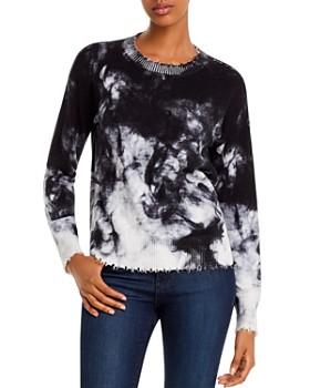 Minnie Rose - Distressed Tie-Dye Sweater