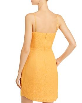 GUESS - Nadia Faux-Wrap Jacquard Dress