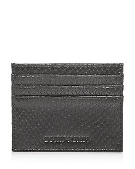 Armani - Python-Embossed Leather Card Case