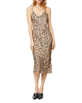 Habitual - Animal-Print Slip Dress