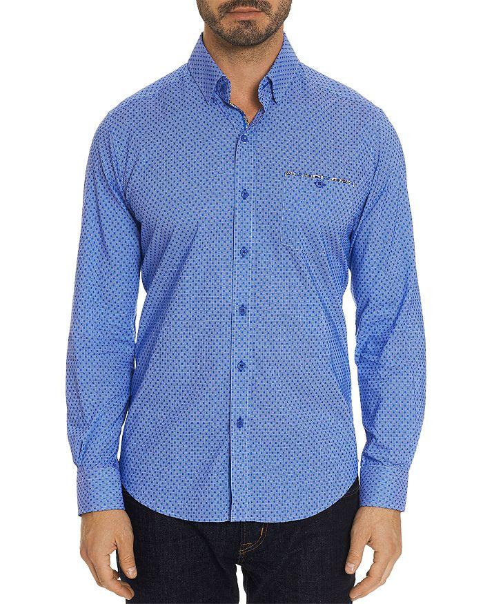 Robert Graham - Carlson Dotted-Gingham Classic Fit Shirt