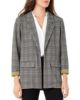 Liverpool - Plaid Boyfriend Blazer