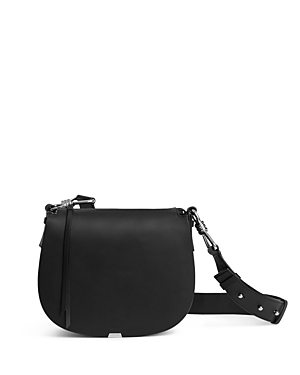 Allsaints Captain Leather Saddle Crossbody