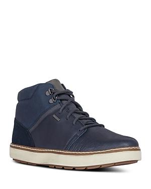 Geox Men\\\'s Mattias Waterproof Lace-Up Boots