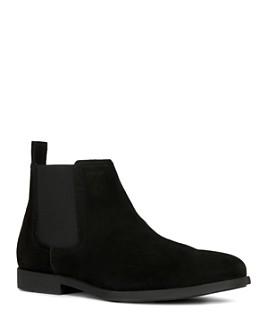 Geox - Men's Kaspar Suede Chelsea Boots
