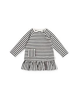 Miles Child - Girls' Striped Ruffle Dress - Little Kid