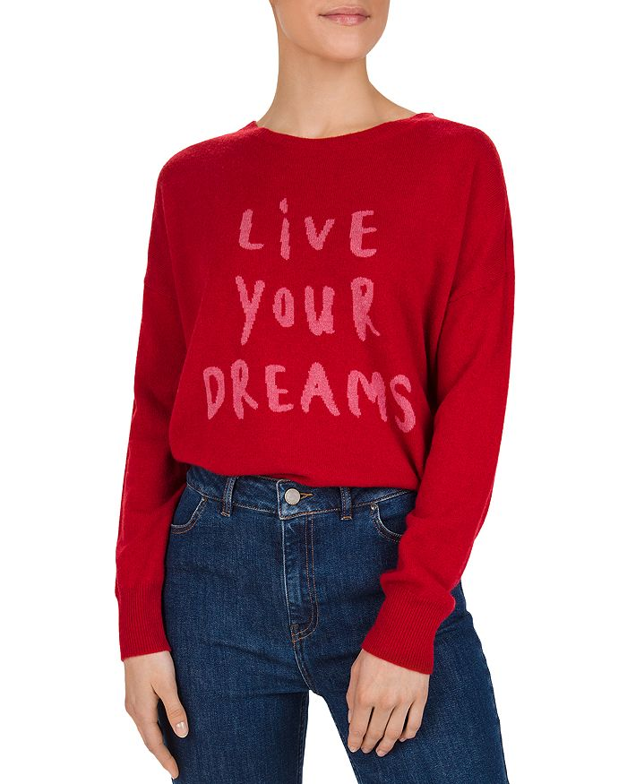Gerard Darel - Sidney Live Your Dreams Cashmere Sweater