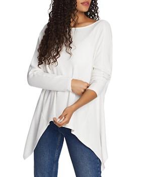 1.STATE - Twist-Back Pointelle Sweater