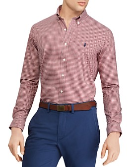 Polo Ralph Lauren - Slim Fit Gingham Poplin Shirt