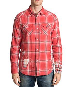 PRPS - Plaid-Block Regular Fit Western Shirt