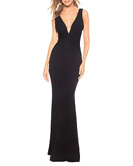 Katie May - Tay Plunging Twist Gown
