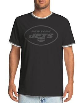 Junk Food - Throwback Football Graphic Ringer Tee
